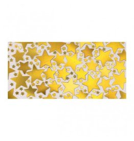 Gold Metallic Star Confetti