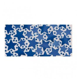 Blue Metallic Star Confetti