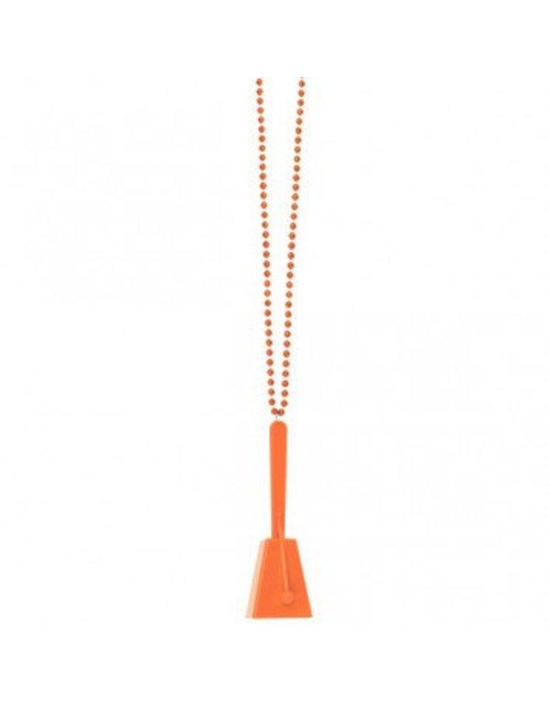 Clacker Necklace Orange