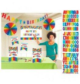 Rainbow Customizable Room Decorating Kit