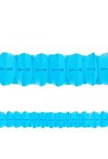 Caribbean Blue Paper Garland 12'