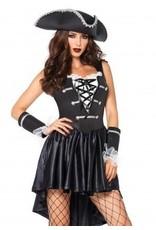 Captain Black Heart XLarge Costume