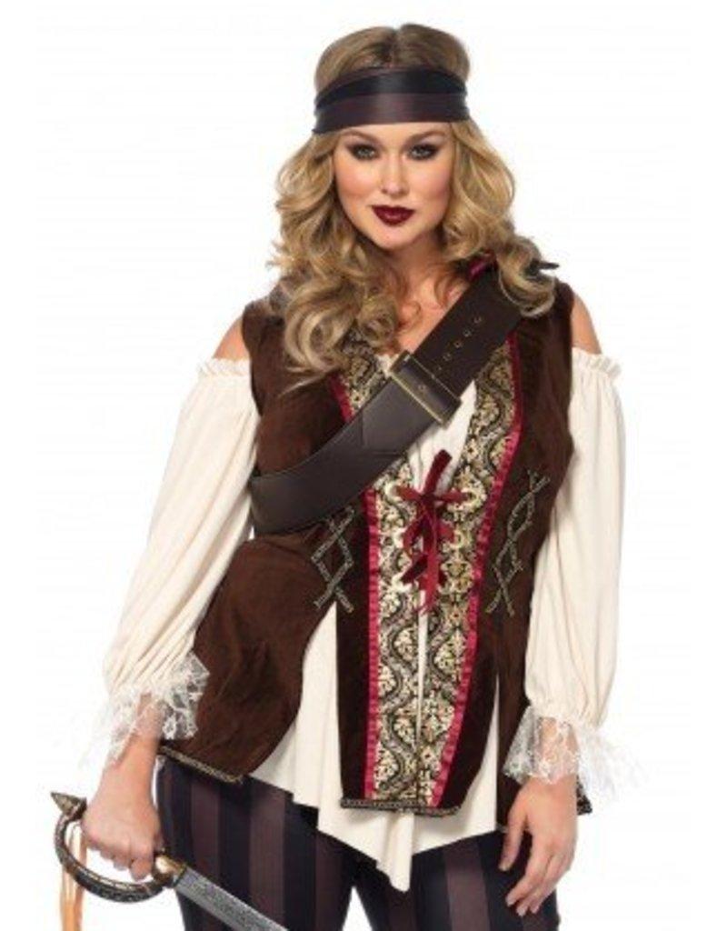Captain Blackheart 1X-2X Costume