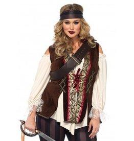 Women's Costume Captain Blackheart 3X-4X