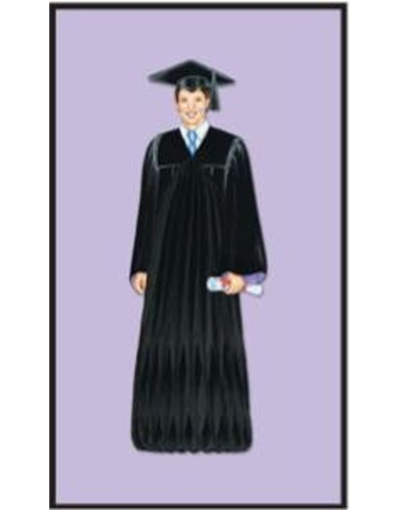 "13"" Boy Graduate Centerpiece"