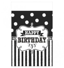 Chalkboard Birthday Tablecover