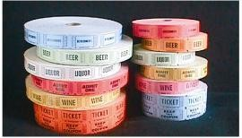 Roll Tickets 1000 Beer