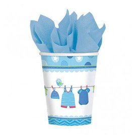 Shower with Love Boy 9oz Cups (8)