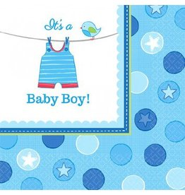 Shower With Love Boy Beverage Napkins (16)