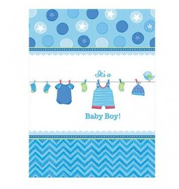 Shower with Love Boy Tablecover