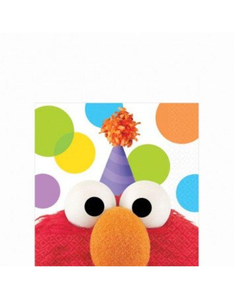 Elmo Party Beverage Napkins (16)
