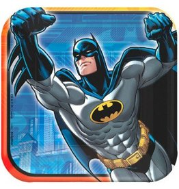 "Batman Square 7"" Plate (8)"