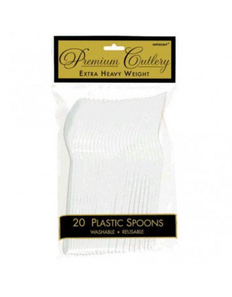 Frosty White Premium Spoons (20)