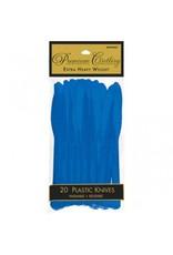 Bright Royal Blue Premium Knives (20)