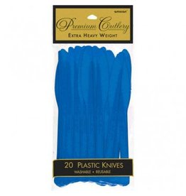 Bright Royal Blue Premium Knives (20)