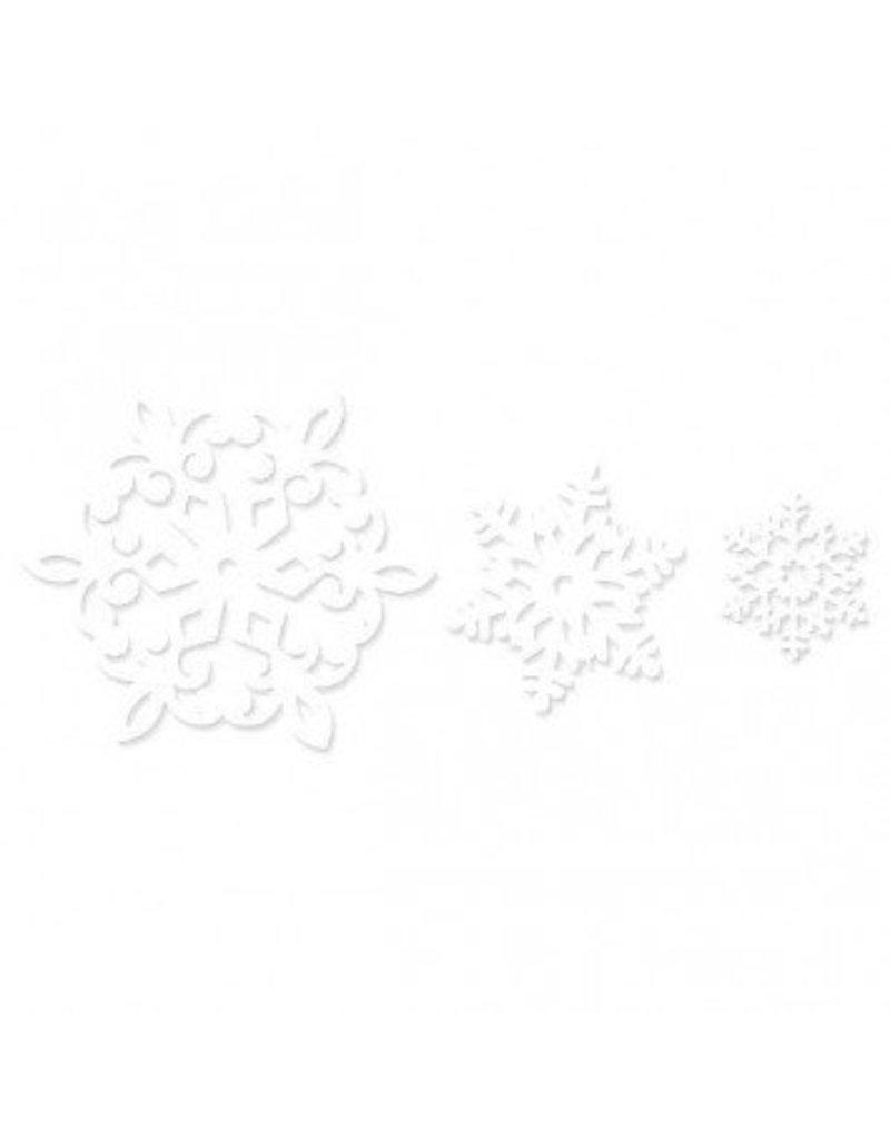 Cutout Glitter Snowflake Mega Pack