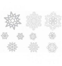Snowflake Paper Mega Value Pack Cutouts