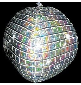 "Disco Ball 15"" Mylar Balloon"