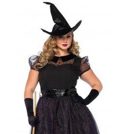 Women's Costume Darling Spellcaster 1X-2X