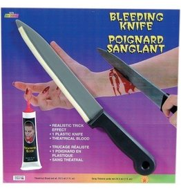 Bleeding Butcher Knife