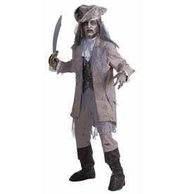 Men's Costume Zombie Pirate