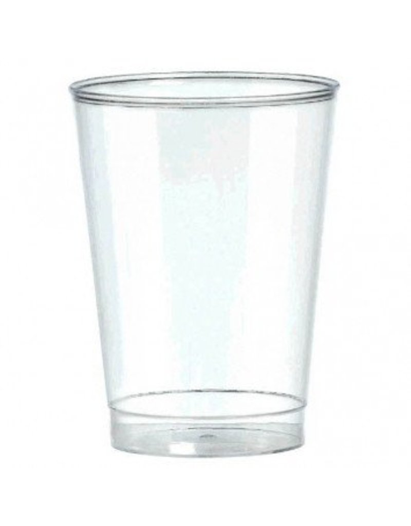10oz Clear Plastic Tumbler (72)