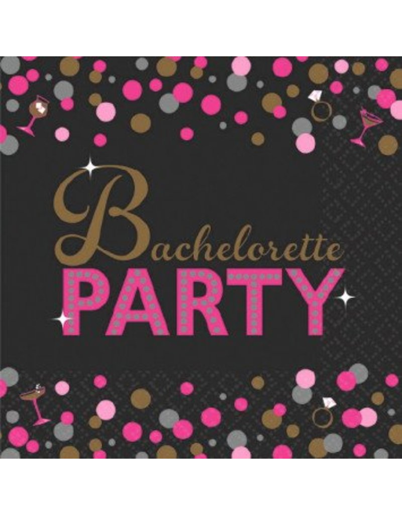 Bachelorette Night Beverage Napkins (16)