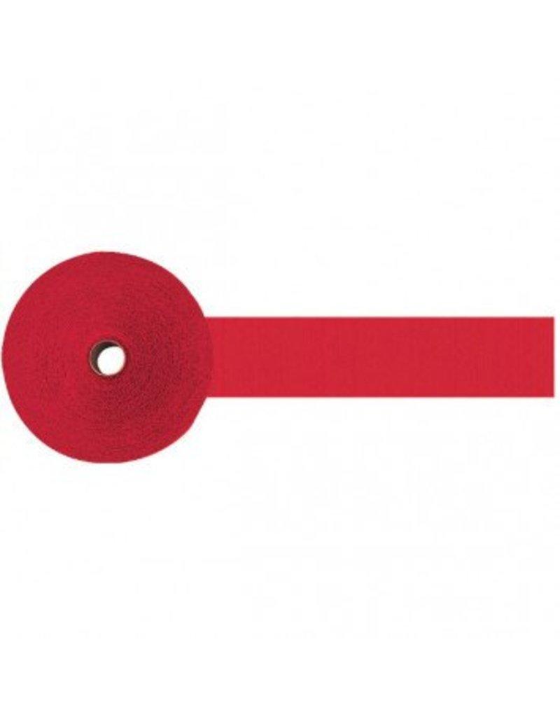 Apple Red Jumbo Crepe Streamer 500'