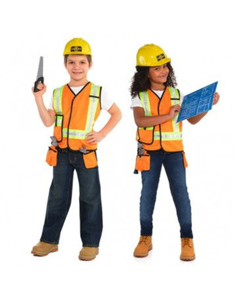 Child Construction Worker Small (4-6) Costume
