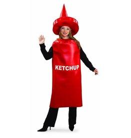 Ketchup Bottle Costume - Standard Size