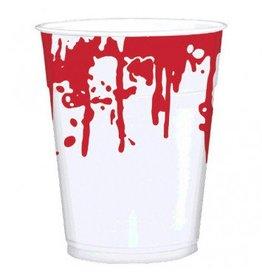 Blood Splattered Printed Cups, 16 oz.