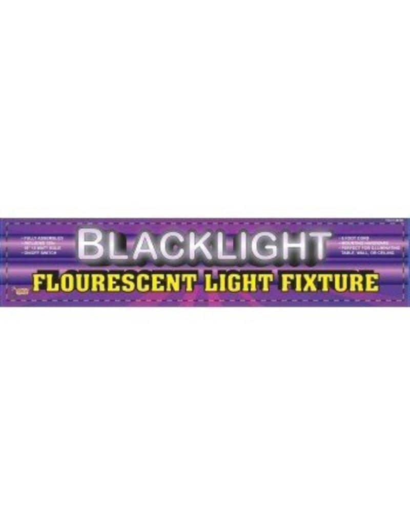 "48"" Black Light Fixture & Bulb"