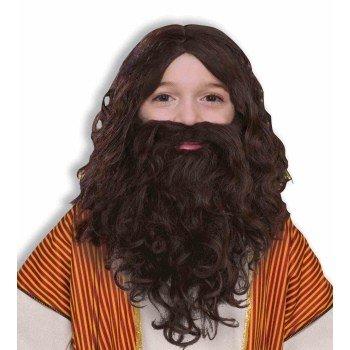 Child Biblical Wig and Beard