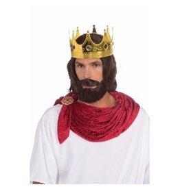 Royal King Beard and Wig
