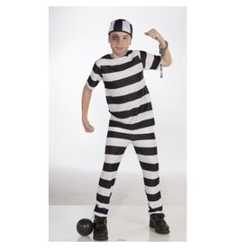 Children's Costume Convict Medium