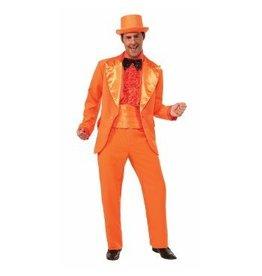 Men's Costume Orange Prom Tuxedo XL