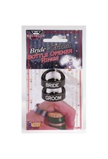 Bride & Groom Bottle Opener Ring Set