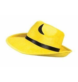 Pop Art Yellow Fedora