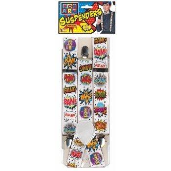 Pop Art Suspenders
