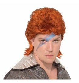 Orange Rockstar Wig