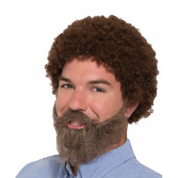 80s Wig, Beard, and Moustache