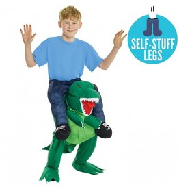 Child Morphsuit Piggy Back T-Rex One Size