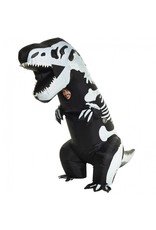 Adult Costume Giant Inflatable Skeleton T-Rex