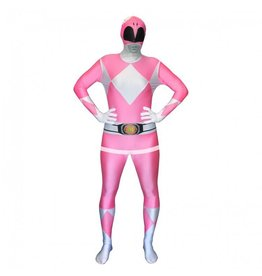 Morphsuit Pink Power Ranger Large
