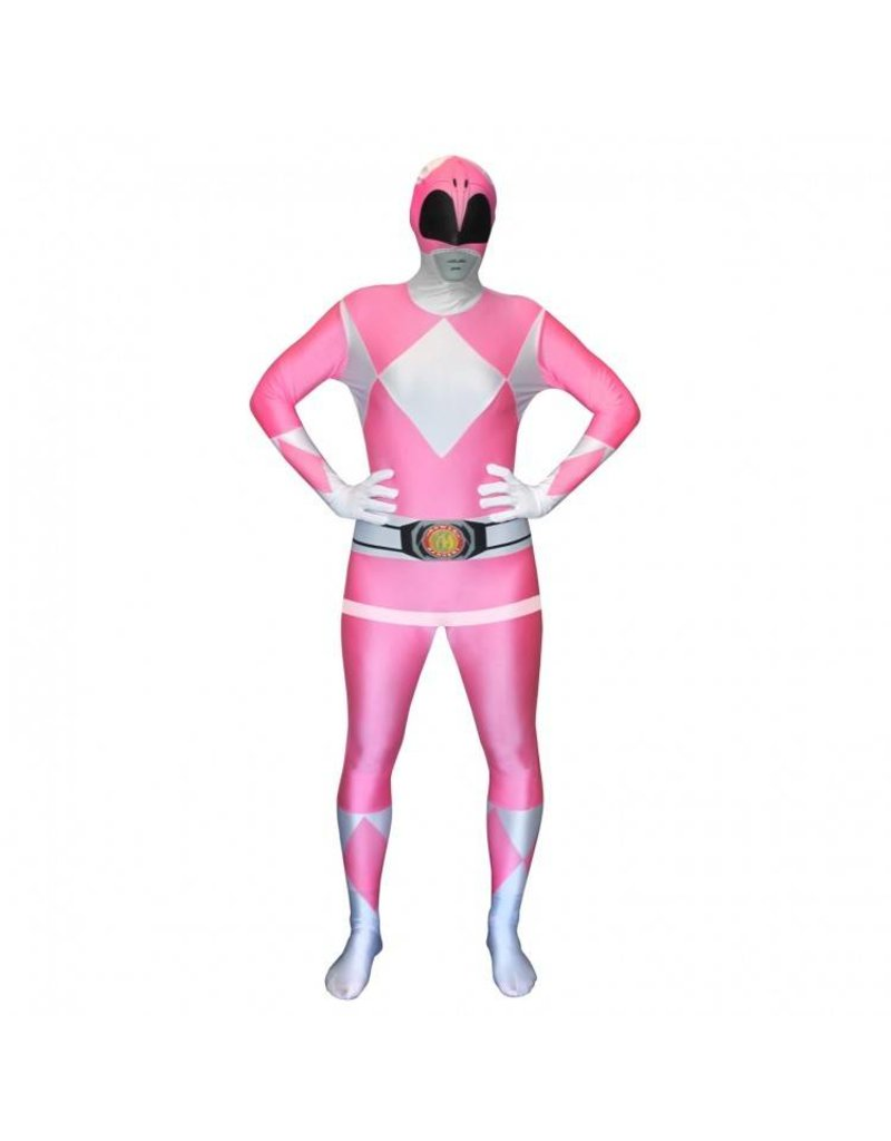 Morphsuit Pink Power Ranger Large