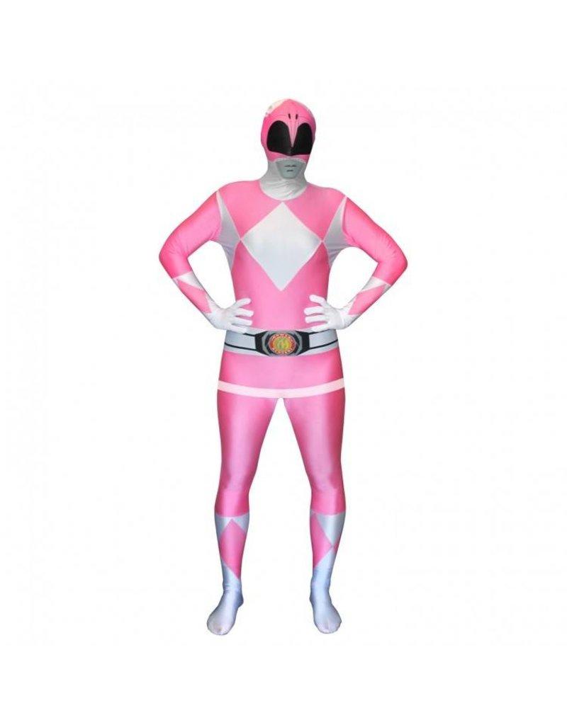 Morphsuit Pink Power Ranger XL