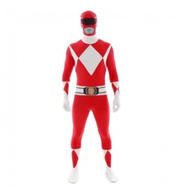 Morphsuit Red Power Ranger Large