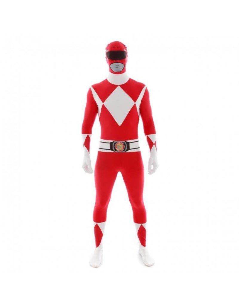 Morphsuit Red Power Ranger Medium
