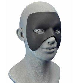 Customizable Hero Mask With Spirit Gum Black