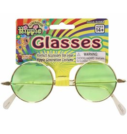 Green Hippie Glasses